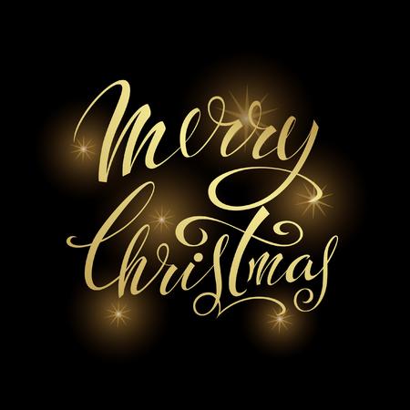 Merry Christmas. Littering design