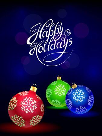 happy holidays Çizim