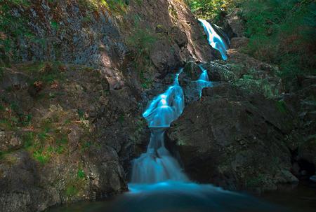 no name: No name waterfall in Sooke River