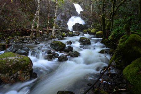 no name: No name waterfall in Pothole BC Province Park