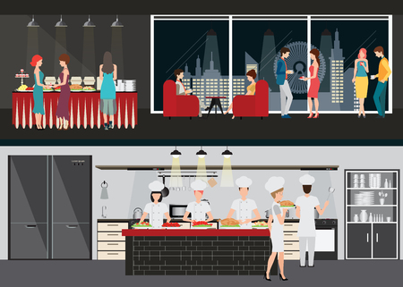 Restaurant Kitchen Illustration 2,527 restaurant kitchen interior stock illustrations, cliparts