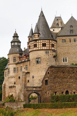 rapunzel: The famous Schloss Bürresheim (Burresheim Castle) is located in the Eifel area in Rhineland-Palatinate, Germany, near the town of St. Johann (Mayen).