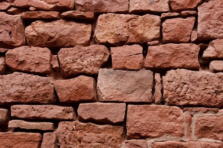fortified wall: Old Sandstone Wall  Background  Texture. Fortified Wall of a Castle.