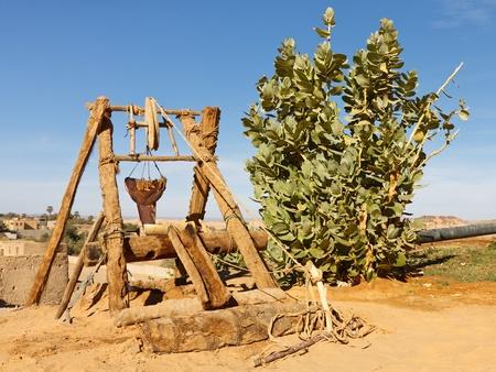 リビア サハラ砂漠でよく古代砂漠