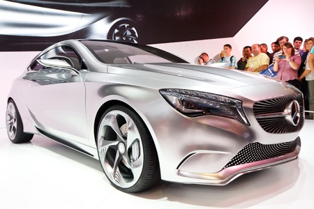 Francfort - SEP 24 : Mercedes-Benz Concept classe a montr� � la 64e IAA Motor Show (Internationale Automobil-Ausstellung) � Francfort, Allemagne, le 24 septembre 2011.