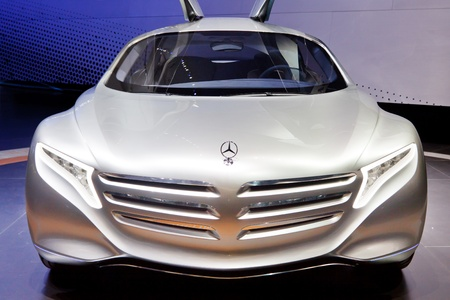 64th iaa: FRANKFURT - SEP 24: Mercedes-Benz F125 Concept Car shown at the 64th IAA Motor Show (Internationale Automobil-Ausstellung) in Frankfurt, Germany, on September 24, 2011.