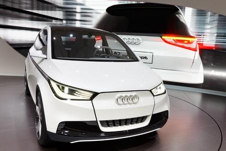 Frankfurt Sep 24 Audi A2 Concept Car Shown At The 64th Iaa