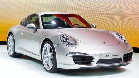64th iaa: FRANKFURT - SEP 24: Porsche 911 Carrera shown at the 64th IAA Motor Show (Internationale Automobil-Ausstellung) in Frankfurt, Germany, on September 24, 2011.