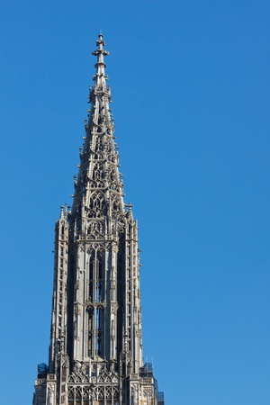 tallest: Top of Ulm Minster  Cathedral (Ulmer Muenster), in Ulm, Germany, the worlds tallest church steeple.