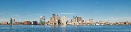Boston - Panoramic view of the capital of Massachusetts. Stock Photo - 11384823