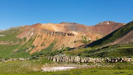 san juans: Colorful mountains in the San Juan Range along the Colorado Trail.
