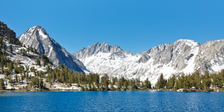 jmt: Stunning Sierra Nevada Alpine Lake Scenery, California, USA