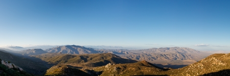 pct: Panoramic view of Anza-Borrego Desert State Park, Southern California, USA