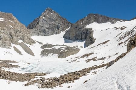 Forester Pass, Sierra Nevada - The highest mountain pass on the John Muir Trail, California, USA. Stock Photo - 17959783