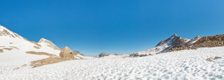 pct: Muir Pass Panorama, Sierra Nevada, California, USA