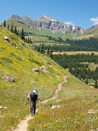 rocky mountains colorado: Hiking Adventure in the Rocky Mountains, Colorado, USA