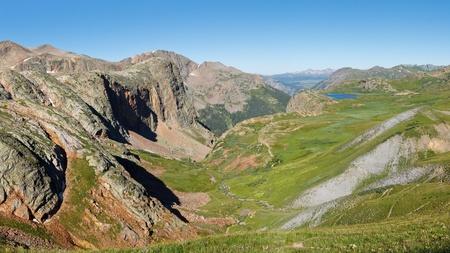 rocky mountains colorado: The Continental Divide in the Rocky Mountains, Colorado, USA