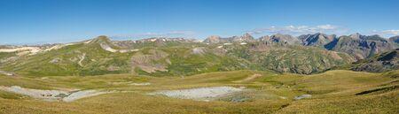 alpine tundra: Alpine Tundra Panorama in the Rocky Mountains, Colorado.
