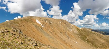 contiguous: Mount Elbert Panorama  The highest peak of the Rocky Mountains and the second highest in the contiguous United States after Mount Whitney, California