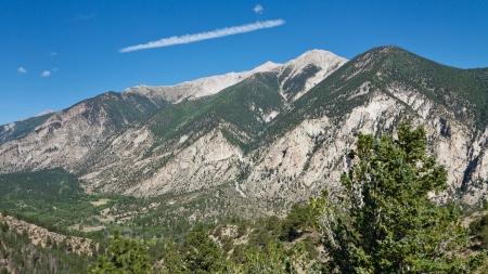 rocky mountains colorado: Mount Princeton in the Rocky Mountains, Colorado, USA Stock Photo