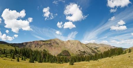 Dramatique Colorado nuage dans le d�sert des Rocheuses.