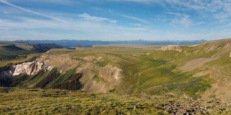 rocky mountains colorado: Snow Mesa, Rocky Mountains, Colorado, USA Stock Photo