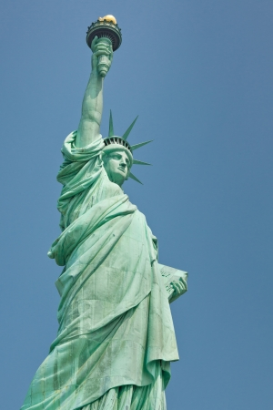 Statue of Liberty in New York, USA photo