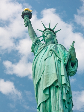 Welcome to the United States - The Statue of Liberty in New York photo