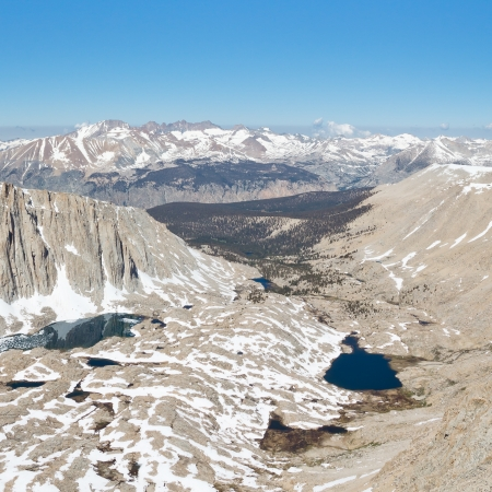 pct: Guitar Lake in the High Sierra, California.