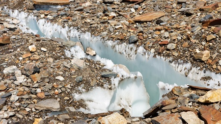 crevasse: Crevasse at Baltoro Glacier, Karakorum, Pakistan