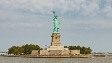 liberty island: Liberty Island e la Statua della Libert�, New York