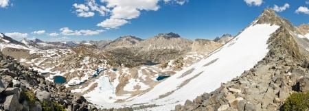 pct: Sierra Nevada Panorama from Glen Pass, California, USA