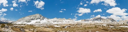 jmt: Kings Canyon National Park Panorama in the Sierra Nevada, California, USA