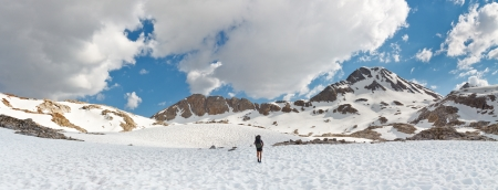 jmt: Sierra Nevada Adventure Panorama, California, USA