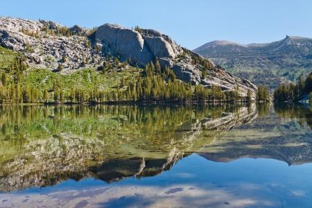 Shadow Lake, Ansel Adams Wilderness, Sierra Nevada, California, USA Stock Photo