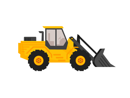 cargador frontal, excavadora, lavadora de carga frontal, lavadora, retroexcavadora, camión volquete, tractor, lavadora de carga frontal