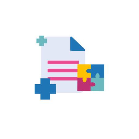 document office management flat style icon sign symbol vector illustration 矢量图像