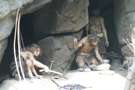 caveman: Neanderthal - Homo neanderthalensis