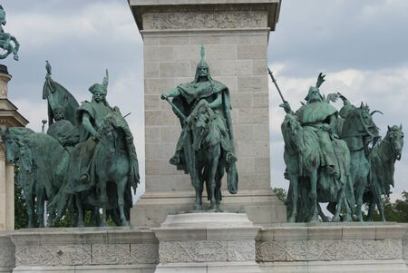 rampage: Horsemen of the Millennium Monument - Hosok Tere (Heroes Square) - Budapest