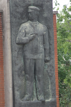 Jeno Landler - The Endless Parade of the Personalities of the Workers Movement - Communist Monument - Memento Park - Budapest