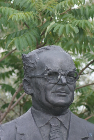 Arpad Szakatis - The Endless Parade of the Personalities of the Workers Movement - Communist Monument - Memento Park - Budapest