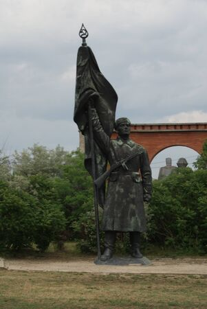 liberation: Red Army Soldier - The Endless Parade of Liberation Monuments - Communist Monument - Memento Park - Budapest Editorial