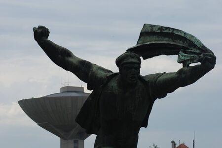 councils: Republic of Councils Monument - The Unending Promenade of Workers Movement Concepts - Communist Monument - Memento Park - Budapest
