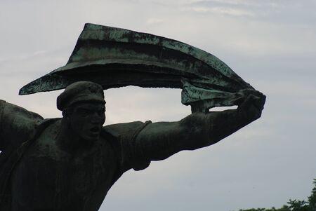 councils: Repubblica del Monumento Consigli - La Passeggiata Unending dei concetti di circolazione dei lavoratori - Monumento comunista - Memento Park - Budapest