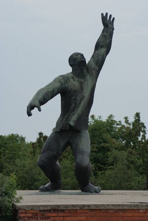 martyr: Martyrs Monument - The Unending Promenade of Workers Movement Concepts - Communist Monument - Memento Park - Budapest