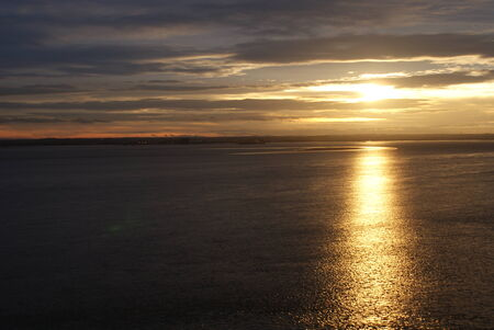 yorkshire and humber: Sunset at the River Humber - Yorkshire
