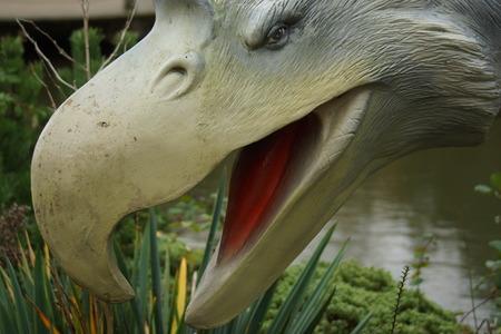 przodek: Fororak najdłuższego - wymarły prehistoryczny ptak przodkiem Zdjęcie Seryjne