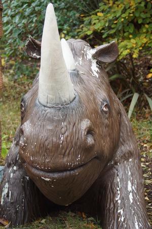 przodek: The Rhino Ancestor - Woolly Rhinoceros - Coelodonta antiquitatis