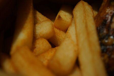 gang: Una pandilla sabrosa de papas fritas o papas fritas