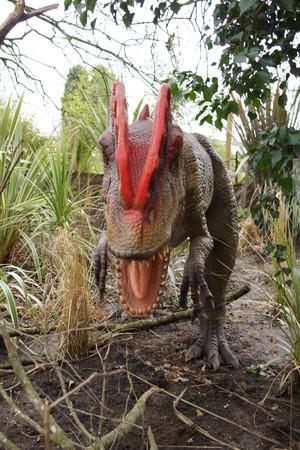 reptilia: A prehistoric view of Dilophosaurus - Dilophosaurus wetherilli